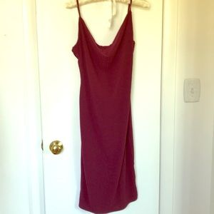 NWT misguided, burgundy dress
